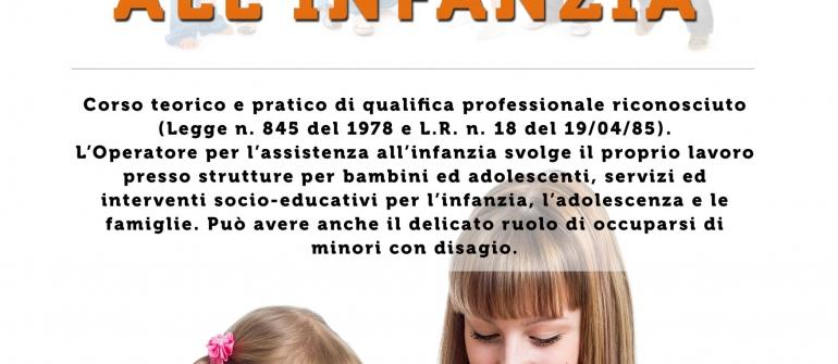 OPERATORE PER L'ASSISTENZA ALL'INFANZIA Corso Online