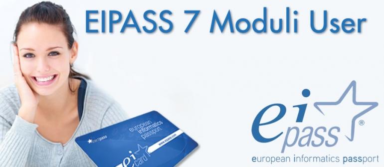 EIPASS 7 Moduli User – Corso Online + Certificazione informatica